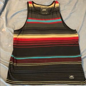 Vans Off the Wall Striped Tank Top